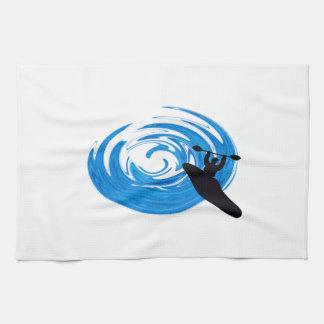 Ride the Rapids Kitchen Towel