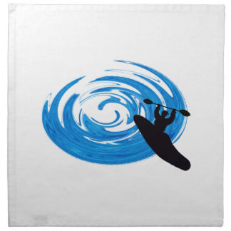 Ride the Rapids Napkin