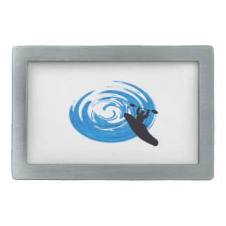 Ride the Rapids Rectangular Belt Buckles