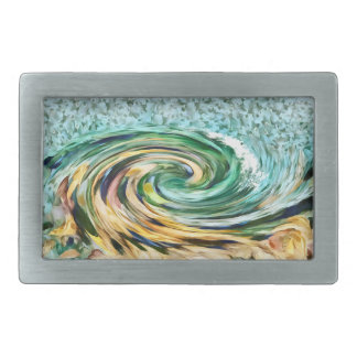 Ride the Surf Belt Buckles