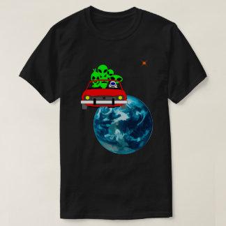 Ride to Mars selfie funny unique T-Shirt