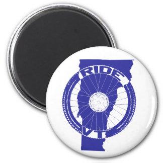Ride Vermont Magnet