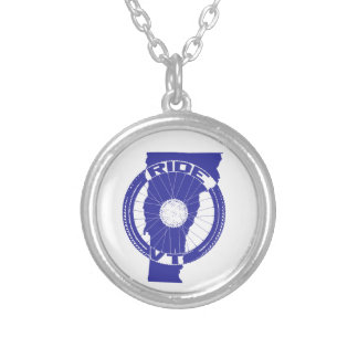 Ride Vermont Silver Plated Necklace