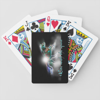 Ride with the Spirit Bicycle Playing Cards