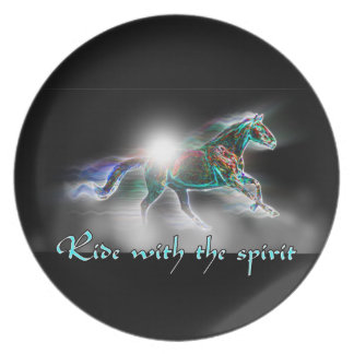 Ride with the Spirit Plate