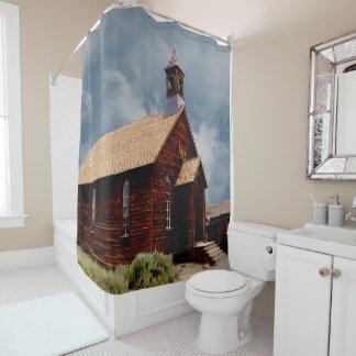 Rideau en douche historique vintage d'église