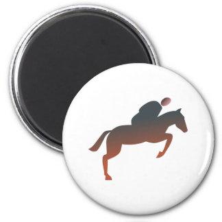 Rider more rider 2 inch round magnet
