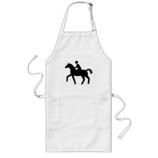 Rider Sign Long Apron