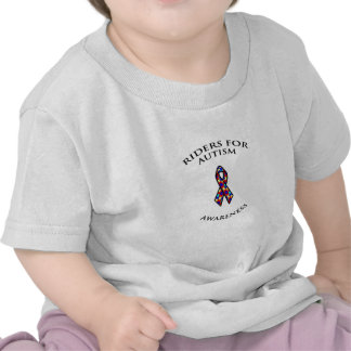 Riders for Autism Awareness clothing T-shirts