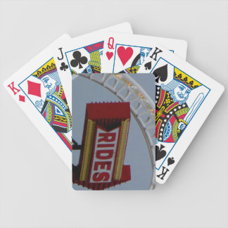 Rides and Roller Coaster Poker Deck
