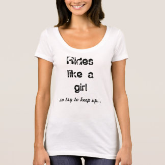 Rides like a Girl Tee