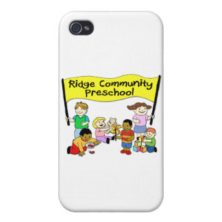 Ridge Community Preschool iPhone 4 Covers