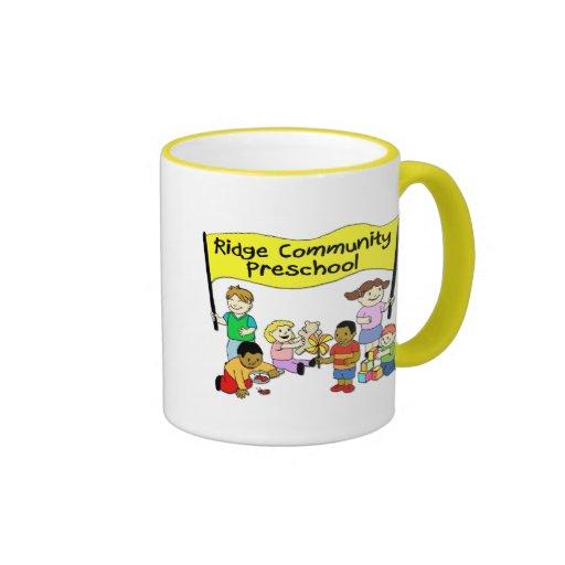 Ridge Community Preschool Coffee Mugs