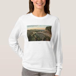 Ridge Route, Overlooking Castaic Creek T-Shirt