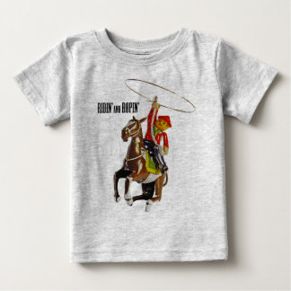 Ridin' and Ropin' Baby T-Shirt