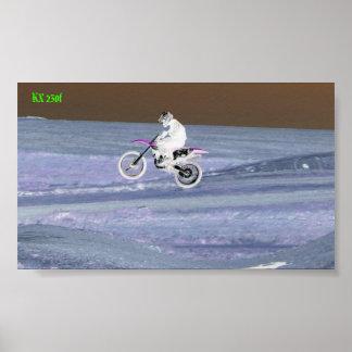 riding 094, KX 250f Poster