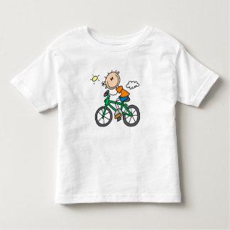 Riding Bicycle - Male Toddler T-shirt
