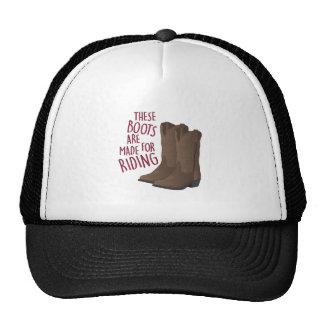 Riding Boots Trucker Hat