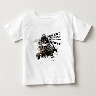 Riding Dirty ATV Baby T-Shirt