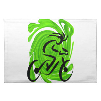 RIDING FOR GREEN PLACEMAT