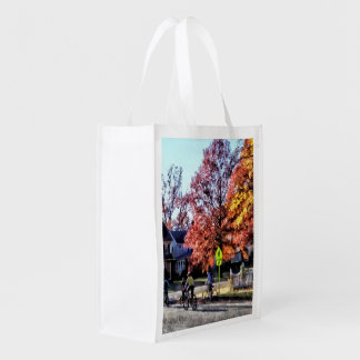 Riding Home From School Grocery Bags