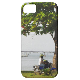 Riding in the Caribbean iPhone 5 Cover