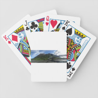 Riding In The Endless Daylight Of Summer Bicycle Playing Cards