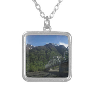 Riding In The Endless Daylight Of Summer Silver Plated Necklace