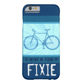 Riding My Fixie Bike Vintage Bicycle iPhone 6 case Barely There iPhone 6 Case