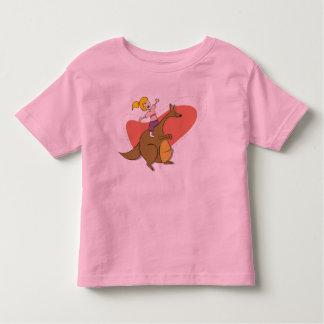 Riding my Kangaroo Kids shirt