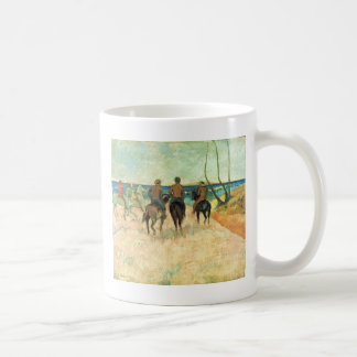 Riding On The Beach By Gauguin Paul (Best Quality) Classic White Coffee Mug