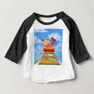Riding Roller Coaster Baby T-Shirt