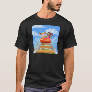 Riding Roller Coaster T-Shirt