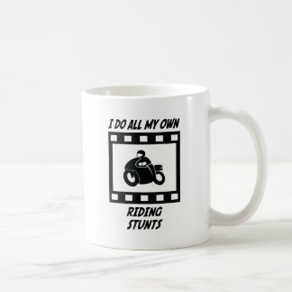 Riding Stunts Coffee Mug