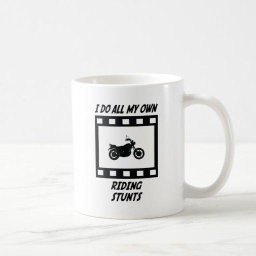 Riding Stunts Coffee Mugs