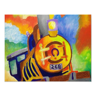 Riding That Train by Piliero Card
