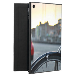Riding the city on a bike cover for iPad air