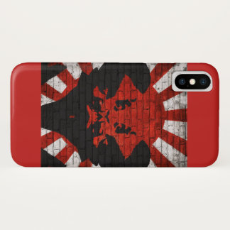Riding the fire in the sun iPhone x case