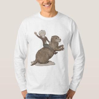 Riding the Giant Groundhog T-Shirt