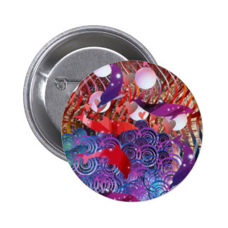 Riding the Waves 2 Inch Round Button