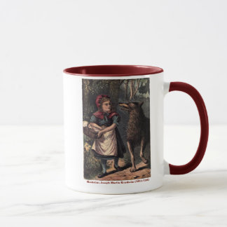 RidingHood Coll: Red Riding Hood Meets The Wolf Mug