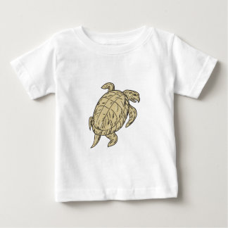 Ridley Turtle Drawing Baby T-Shirt