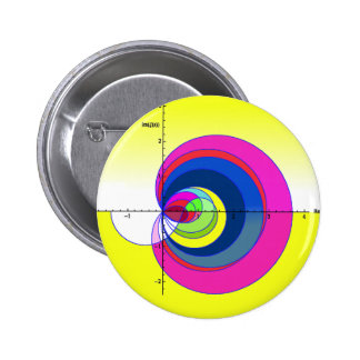 Riemann zeta function yellow.png 2 inch round button