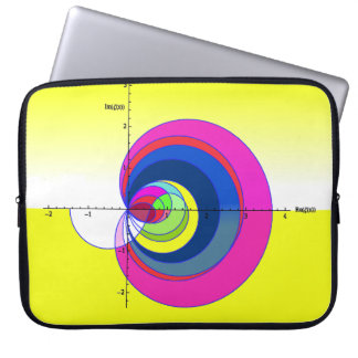 Riemann  zeta laptop sleeve