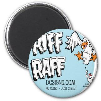 RiffRaff 2 Inch Round Magnet