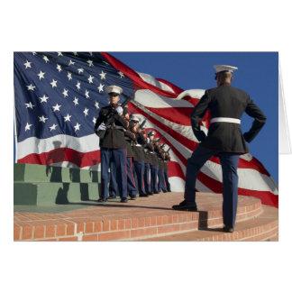 Rifle Honor Guard Card
