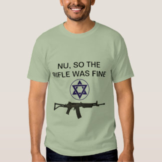 Rifle is improved t shirt