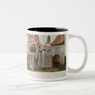 Rifle Makers' Workshop, 1793 Two-Tone Coffee Mug