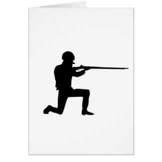 Rifleman Greeting Card