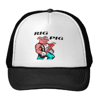 Rig Pig Mesh Hats